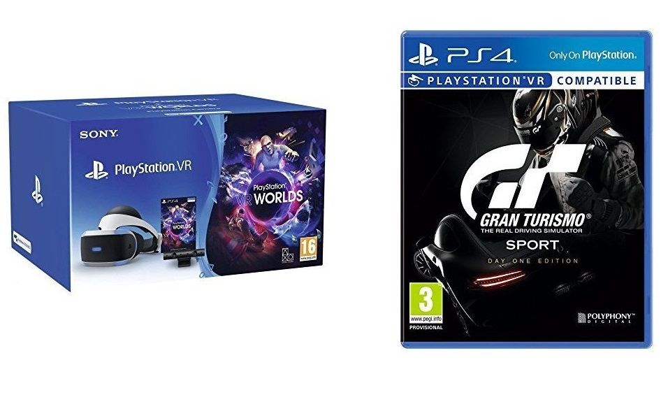 Bon Plan : Pack casque Playstation VR + Caméra + VR World + GT Sport Edition Day One à 249,99 euros